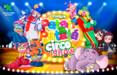 Cupom de desconto - 60% OFF em Parque Patati Patatá Circo Show