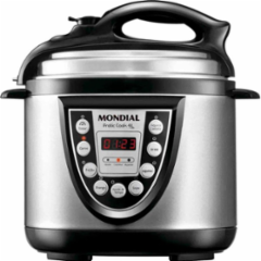 Cupom de desconto - 18% OFF em Mondial Pratic Cook PE-09 Pressão 4L