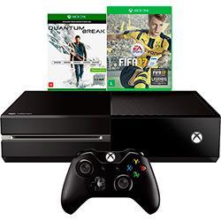 Cupom de desconto - 30% OFF em Console Xbox One 500GB + 2 Jogos + Controle Sem Fio