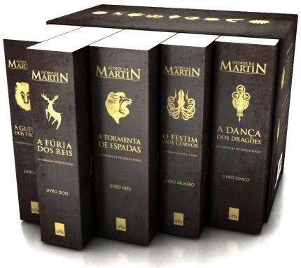 Cupom de desconto - Box – As Crônicas de Gelo e Fogo –  Edição de Colecionador – 5 Volumes Por R$ 99,90
