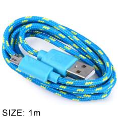 Cupom de desconto - Cabo USB tecido traçado 1 metro  por R$ 3