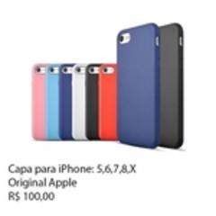 Cupom de desconto - Capa Original Apple Por R$138,0
