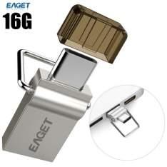 Cupom de desconto - Eaget Otg 2 EM 1 Tipo C Flash Drive 16GB  por R$ 44