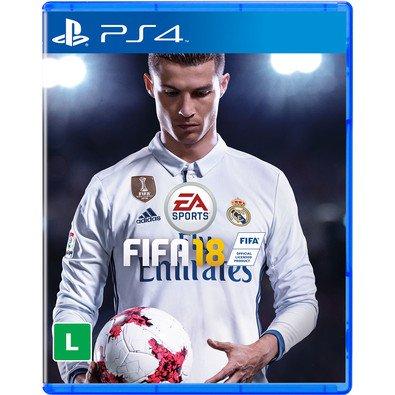 Cupom de desconto - Game FIFA 18 PS4 por R$99,90