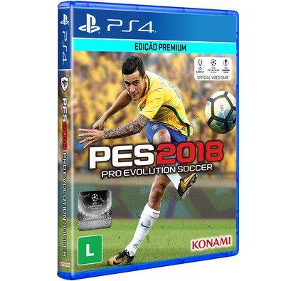 Cupom de desconto - Game PES 2018 PS4 por R$ 179,91