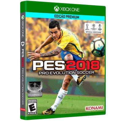 Cupom de desconto - Game PES 2018 Xbox One por R$ 169,91