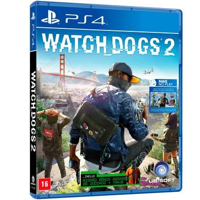 Cupom de desconto - Game Watch Dogs 2 PS4 por R$ 110,42