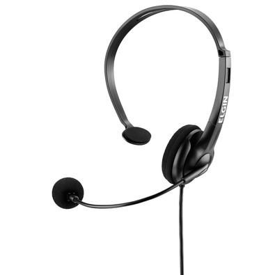 Cupom de desconto - Headphone Elgin com Ajuste por R$ 38,90