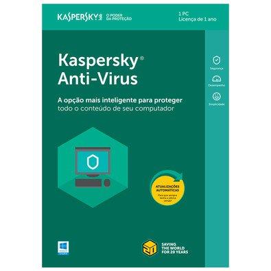 Cupom de desconto - Kaspersky Antivírus 2018 1 PC por R$39,90