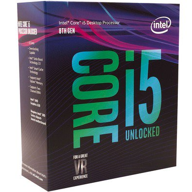Cupom de desconto - Processador Intel Core i5-8600k por R$ 1.084,90