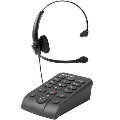 Cupom de desconto - Telefone Intelbras Headset c/ base discadora  por R$ 85,90