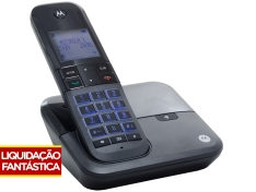 Cupom de desconto - Telefone Sem Fio Motorola por R$ 100