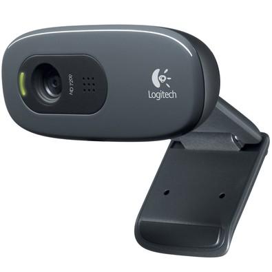 Cupom de desconto - Webcam HD 720P Logitech por R$ 98,90